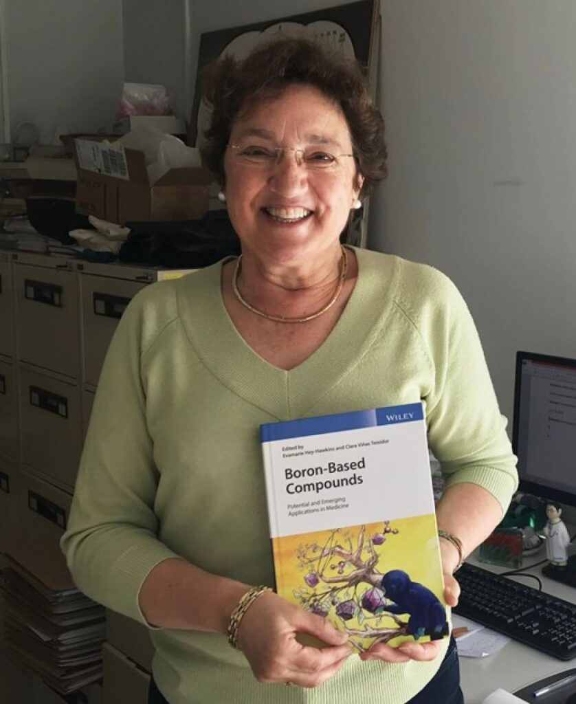 Congratulations to Prof. Clara Viñas for being appointed as a member of the Academia Europaea